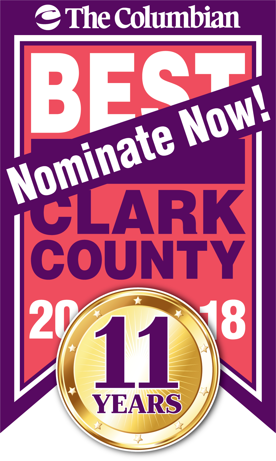 The Columbian is hosting the Best of Clark County Contest for 2018!